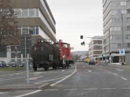シュトゥットガルトの電車