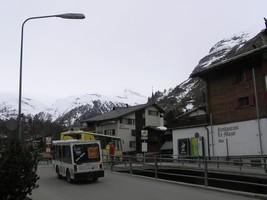 ツェルマットのバス