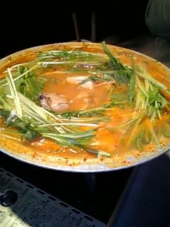 チゲ鍋(要予約