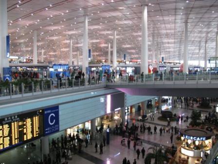北京首都空港T3