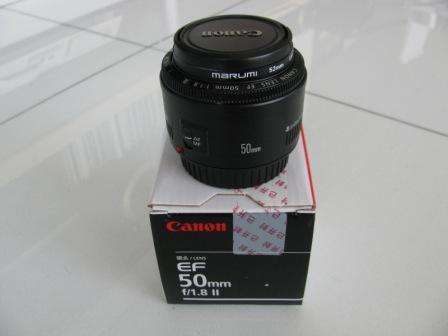 EF50mm F1.8II 1