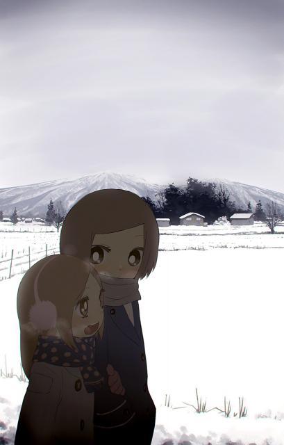 雪降る地方