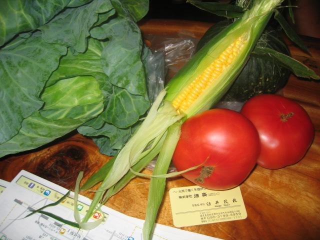 デリバリー野菜