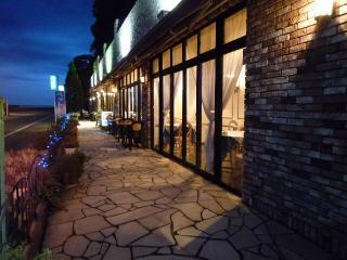 Ocean Pacific Cafe ドッグ カフェ ワンコ OK テラス クレア シーフード 料理 レストラン