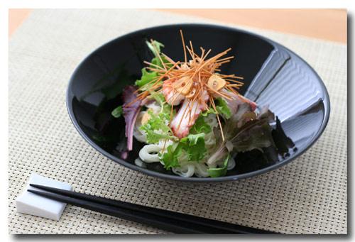 『シーフード素麺サラダ』