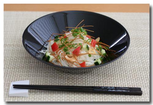 『野菜素麺サラダ』