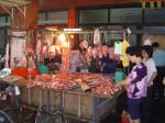 市場 肉屋