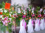 開店祝いの生花