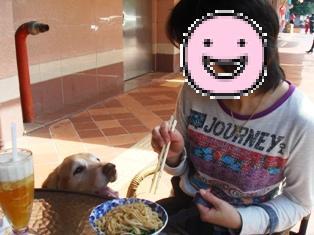 ママ、美味しそうな麺ですね~