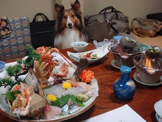 1泊目夕食