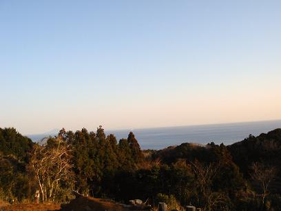 むつみ庵からの景色
