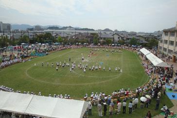 2008.9.28小学校運動会 020