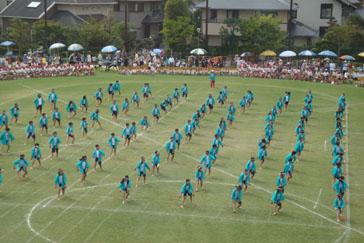 2008.9.28小学校運動会 023