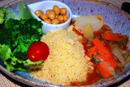 Couscous légumes