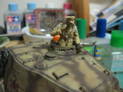 戦車長アップ