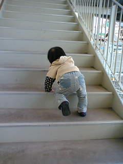 自分で階段