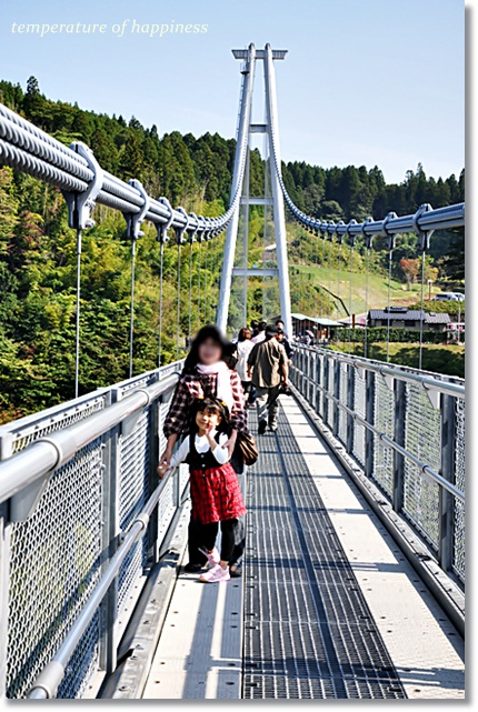 大分熊本日帰りドライブ4(夢の大吊り橋)