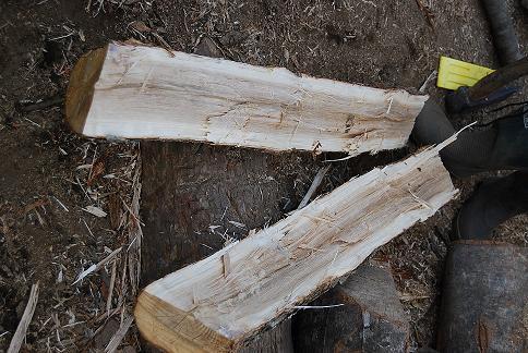 薪割り-2
