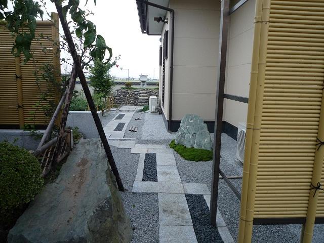 景石と大杉苔(3)全体配置