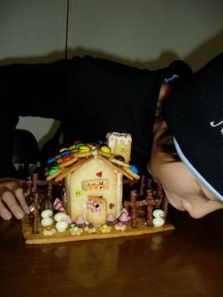 お菓子の家がぶっ縮小