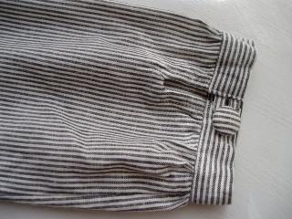 ピンスト袖縮小