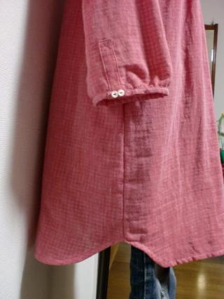 赤ピン裾袖縮小320