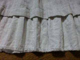 パッチキャミグレー裾縮小