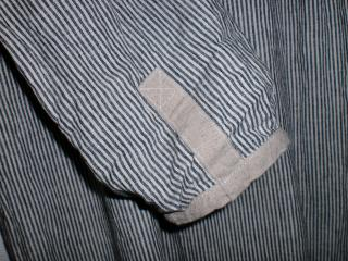 スト前ボタン袖縮小