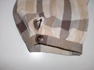 チェック裾縮小