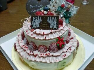 クリスマスケーキ320
