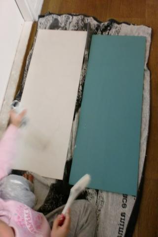 板塗り320
