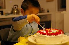 がっつりケーキ