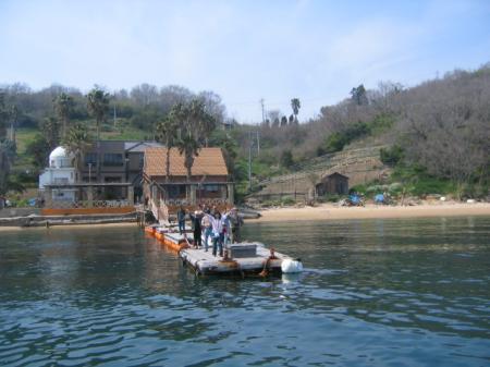 三虎の桟橋