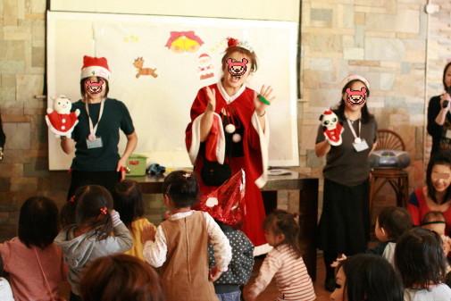 リズム教室クリスマス会