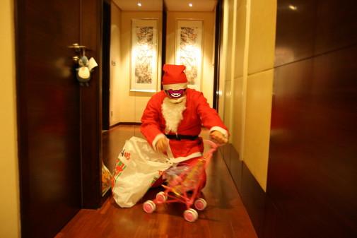 サンタが来たよ