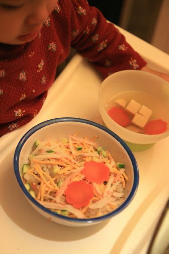 モゾコ用ちらし寿司