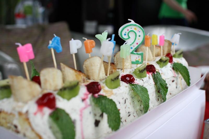 2歳のケーキ