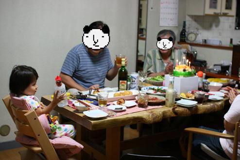 ダンナ45歳の誕生日
