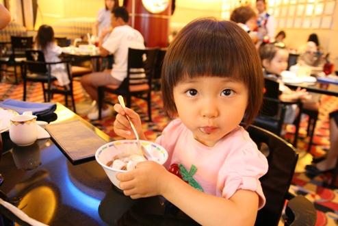 アイスクリームもおいしい♪