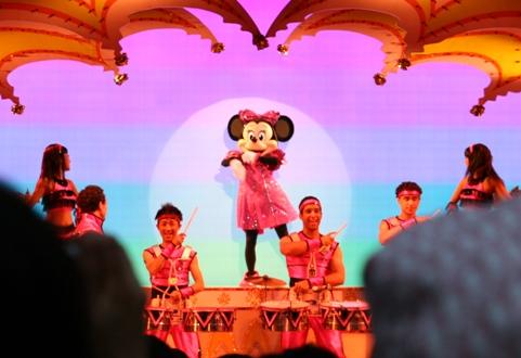 ミニーちゃんの舞台を観にいきました