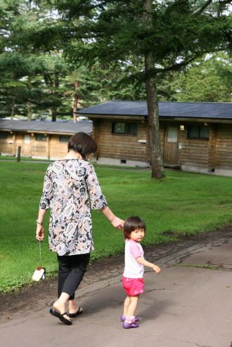 おばあちゃんと散歩2