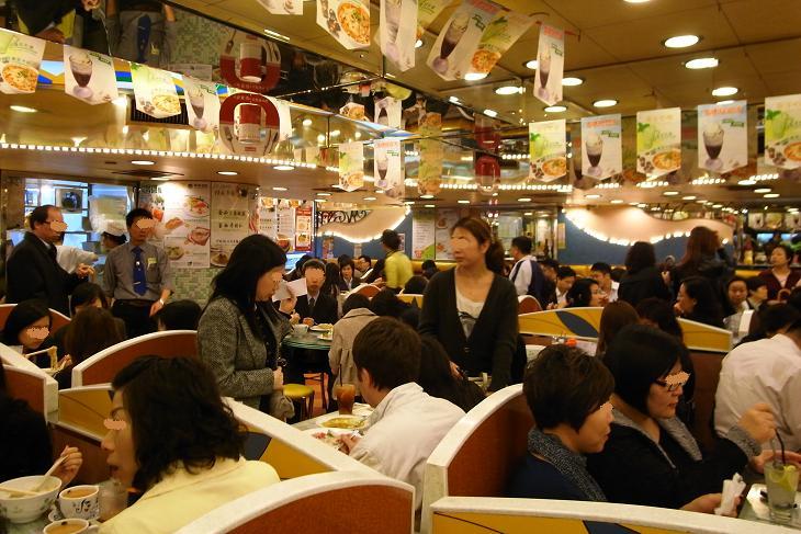 翠華餐廳 店内