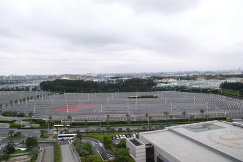 TDLの駐車場