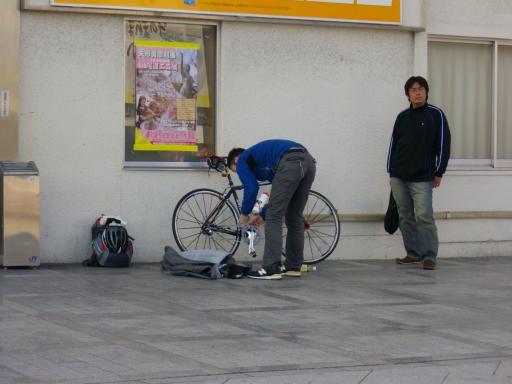 尾道駅前風景