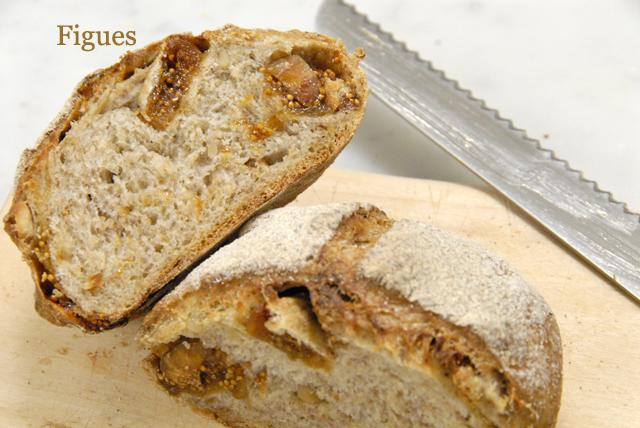 2種類のライ麦パン