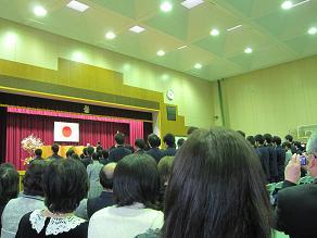 卒業式111114