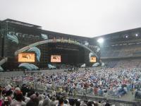 始まる前のコンサート会場
