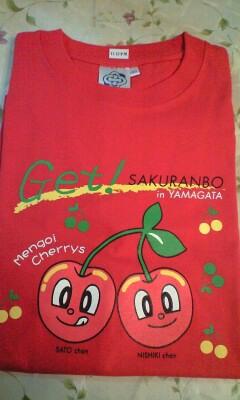 080608さくらんぼTシャツ