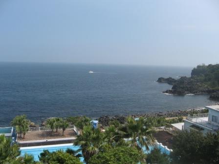 海洋公園展望台から海