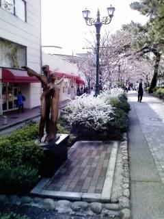 花の道の桜&雪柳2